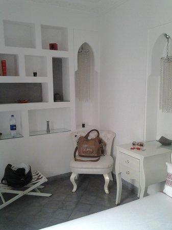Riad Mirage : La chambre blanche