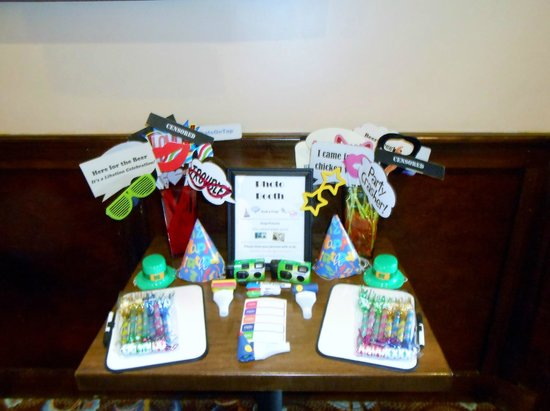 The Bungalow Alehouse: Party Photo Props