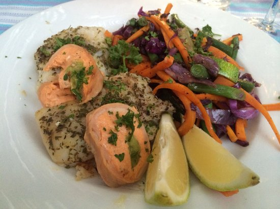 Eve's Eatery and Bar: Duo of fish