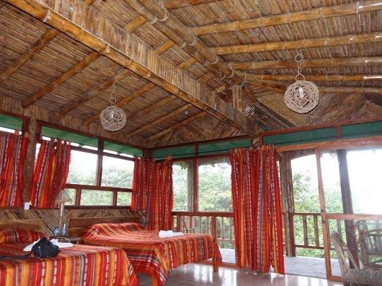 San Jorge de Milpe Eco-Lodge Orchid & Bird Reserve: my room