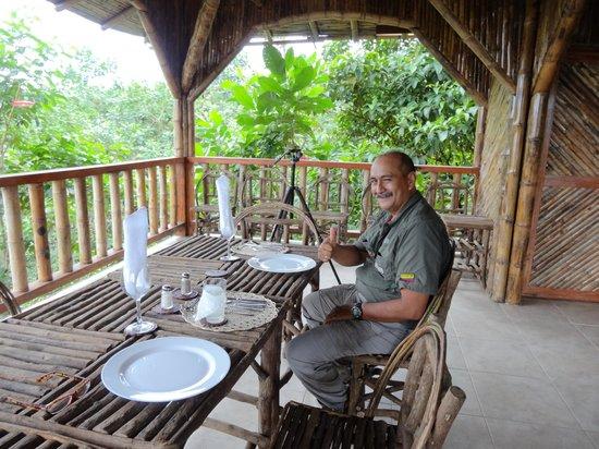 San Jorge de Milpe Eco-Lodge Orchid & Bird Reserve : Dr. Jorge Cruz