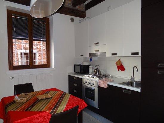 B&b Palazzetto Cavalli : кухня-гостиная