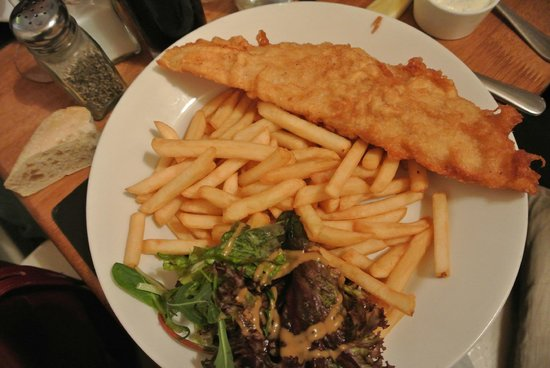 The Bay Tree: Fish and chips
