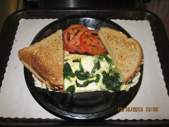 The Beach Grille: Healthy Choice Omelette