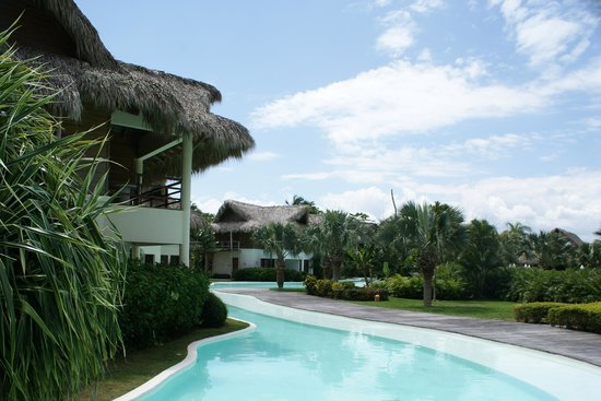 Zoetry Agua Punta Cana: piscine au pied des chambres