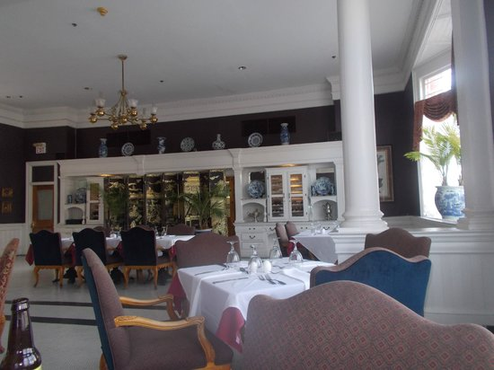 Rosemary & Thyme Restaurant: view from our table
