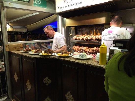 Schweine Janes: Pork!!! Loads of it :)