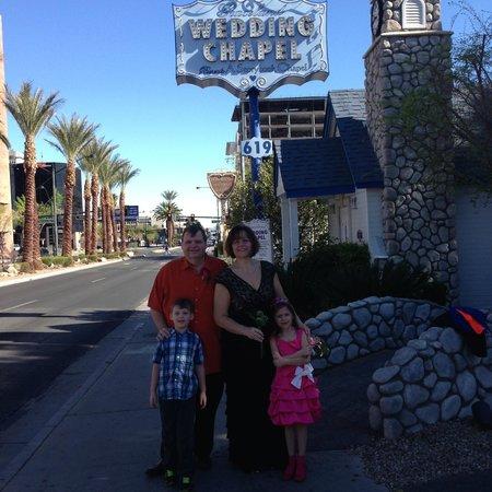 A Storybook Wedding Chapel Graceland Sign Entrance