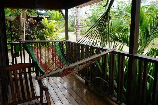 Blue River Resort & Hot Springs: Terrace hammock