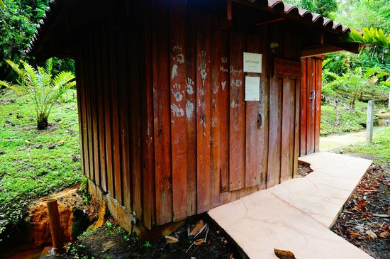 Blue River Resort & Hot Springs: Natural sauna heated by water from hot springs