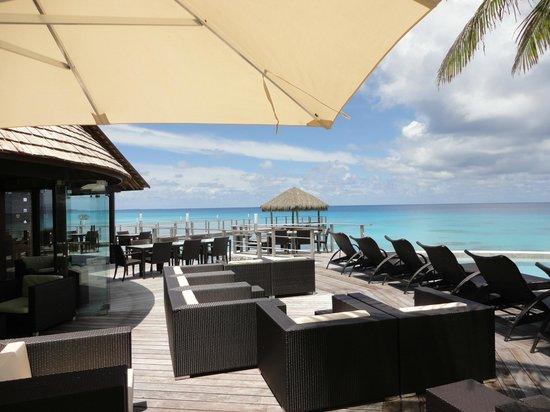 Hotel Maitai Rangiroa: Restaurant/Bar