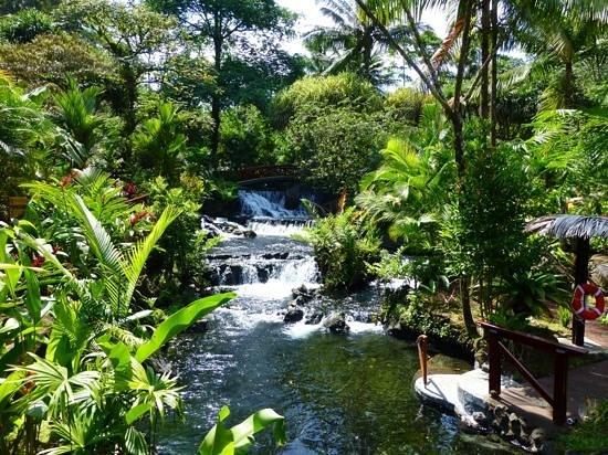 Tabacon Thermal Resort & Spa: Hot springs river.