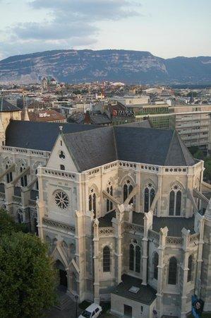 Cornavin Hotel Geneva: Muy buenas vistas