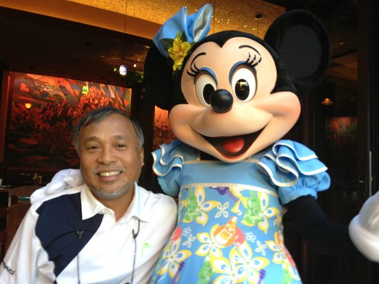 Aulani, a Disney Resort & Spa : character bfast