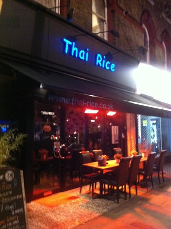 Photo of Asian Restaurant Thai Rice at 239 Elgin Ave., London W9 1NJ, United Kingdom