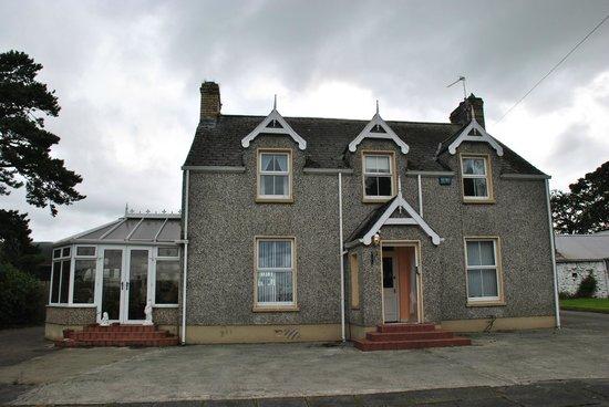 Groarty House & Manor B&B: Fachada de la casa