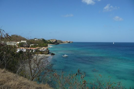 Grenadian by Rex Resorts : The beautiful waters of Magazin Beach and Pink beach.
