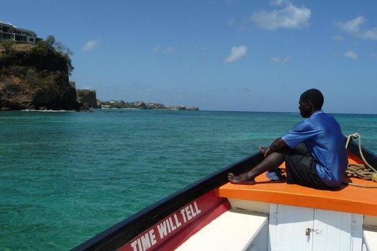 Grenadian by Rex Resorts : Exploring the waters, close to Rex Resort