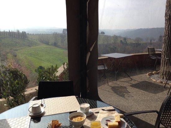 Salvadonica - Borgo Agrituristico del Chianti: Prima colazione