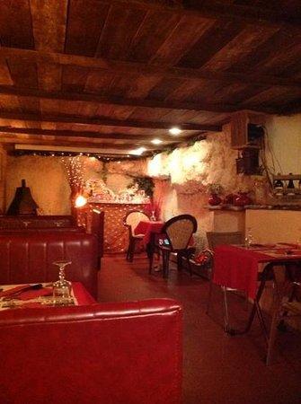 Resto 3 Vallees: une petit salle pour les amoureux