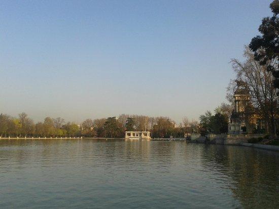 Parque del Retiro: Muy hermoso