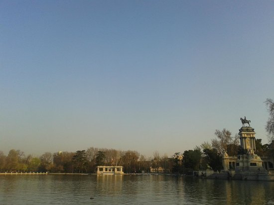 Parque del Retiro: Silencio