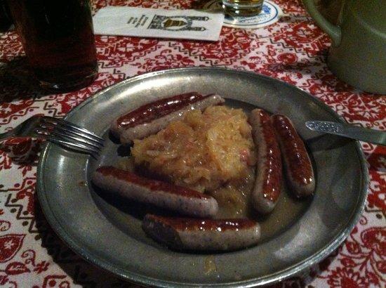 Gaststätte Nürnberger Bratwurst Glöckl am Dom: Salcchichas