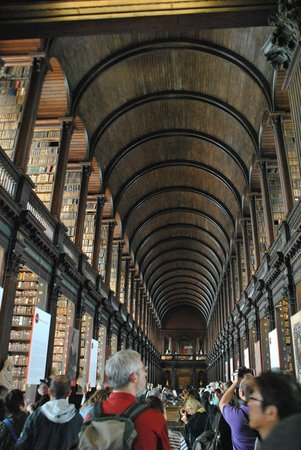 The Book of Kells and the Old Library Exhibition: Trinity College Library