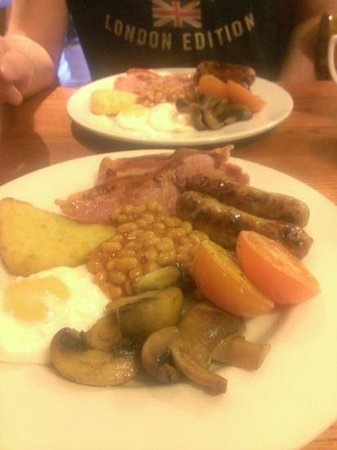 Premier Inn Lymington (New Forest, Hordle) Hotel: Great breakfast