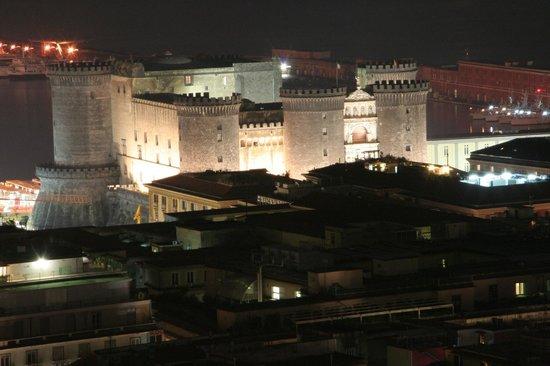 Hotel San Francesco al Monte: Night time castle view