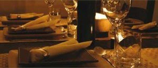 La Mision Loreto: Wine and candles.