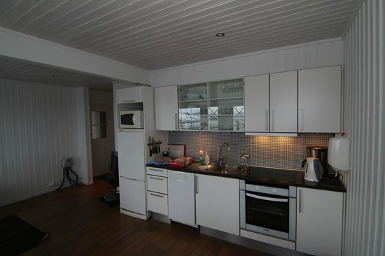 Koppangen Brygger: Fully furnished and well equiped Kitchen in our private cabin