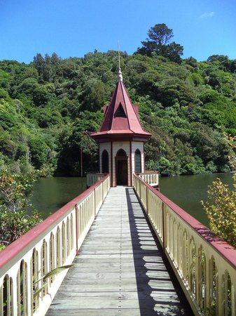 ZEALANDIA Sanctuary: Historic water intake tower