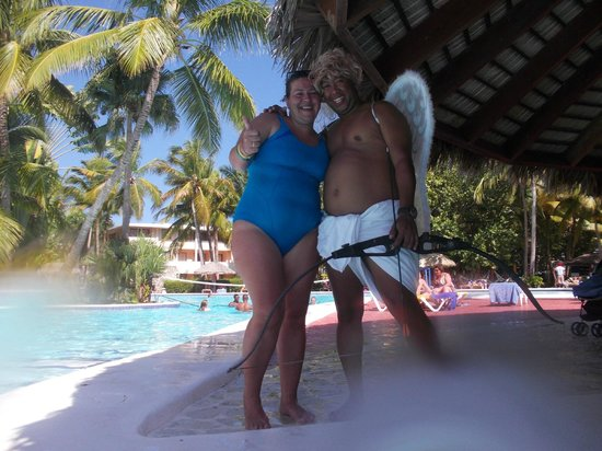Catalonia Bavaro Beach, Casino & Golf Resort : Cupido me acertó con las flechas del amor... jajaja