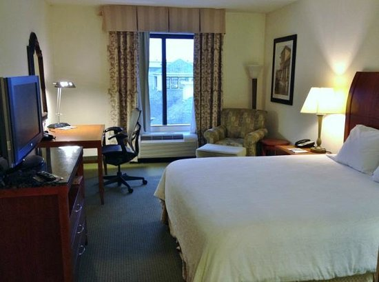 Hilton Garden Inn Memphis Southaven: King Room 1st Impression