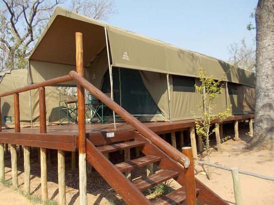 Tydon Safari Camp : our tent