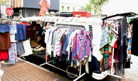 b9f403f31f03 Vintage clothing - Picture of Neighbourgoods Market, Johannesburg ...