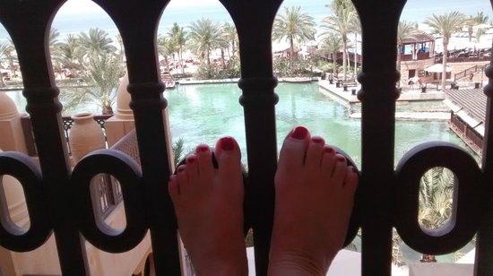 Jumeirah Mina A'Salam: uitzicht vanaf de kamer