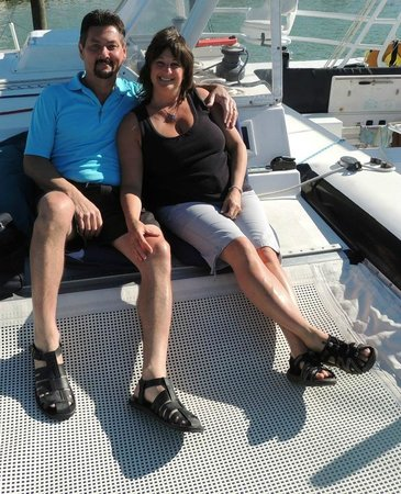 Thunderbird Sailing day trips: Enjoying the cruise