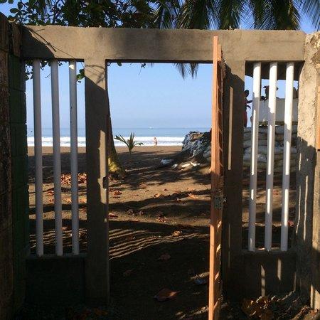 Hotel Zabamar : Acceso a playa