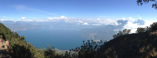 Volcan San Pedro : The view from the top