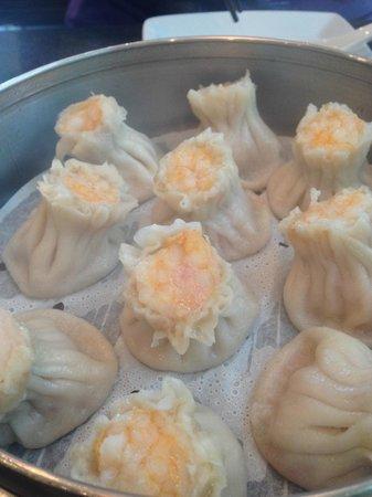 Din Tai Fung Dumpling House: Shrimp-pork sho mai