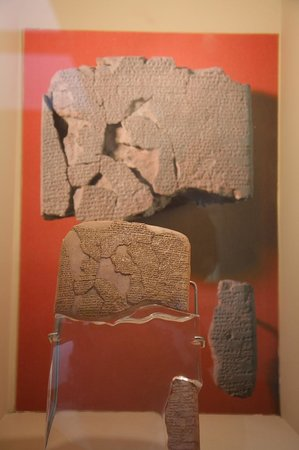 Istanbul Archaeological Museums: First recorded trade treaty bet Hittites & Egypt