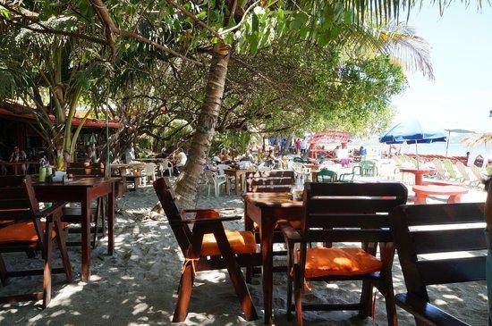 El Ancla: View of neighboring restaurant