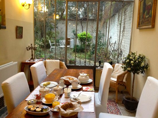Nouvelle Vie: Beautiful breakfast room