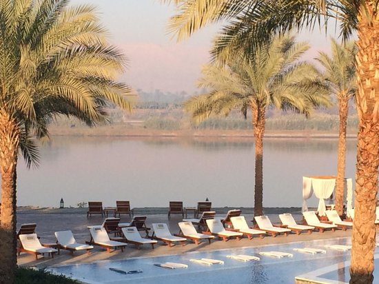 Hilton Luxor Resort & Spa : Best way to relax after a long day.
