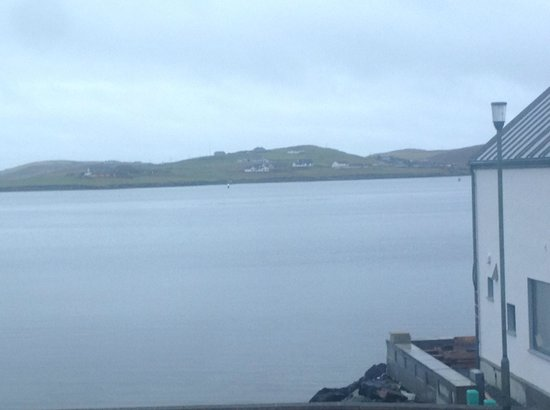 Scalloway Hotel: Scalloway Harbour