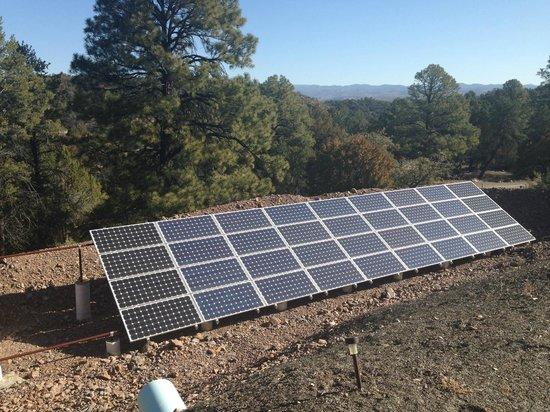Georgetown Cabins Resort: Solar Power!