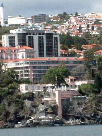 Belmond Reid's Palace : Hotel visto do mar