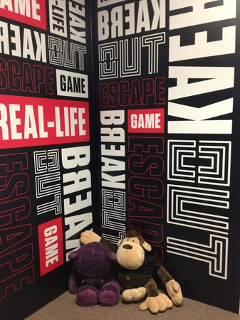 BreakOut Games - come take a picture with our mascots!